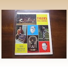 1969 Tigers World Champions Baseball Yearbook
