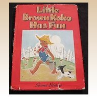 "1945 ""Little Brown Koko has Fun"" Second Edition"