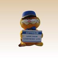 """New 1978 Plush """"Garfield Messenger Of Love"""""""