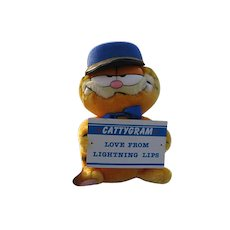 "New 1978 Plush ""Garfield Messenger Of Love"""