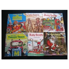 """Children """"Please Read To Me"""" Picture Eight Book Set"""