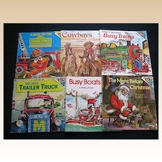 "Children ""Please Read To Me"" Picture Eight Book Set"