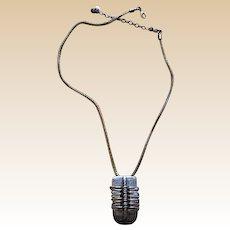 Marjorie Baer Modernist Metal Necklace