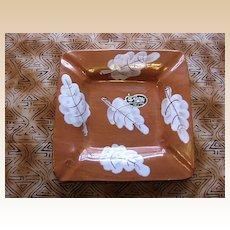 1960's Rossini Originals Italy Leaf Pottery Ashtray