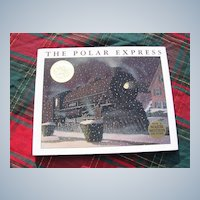 "Classic 1985 Caldecott Medal ""The Polar Express"" Children Book"