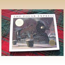 "Classic 1985 Caldecott Medal ""The Polar Express"" Children Book"