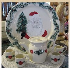 1994 Mill Creek Stoneware Christmas Set