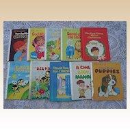 "1980's ""A Happy Day Book"" Children Book Set Of Eleven"