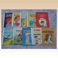 "1980's ""A Happy Day Book"" Children Book Set Of Eleven"