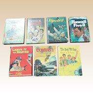 Whitman 1960's Television Juvenile Book Set Of Eight Books