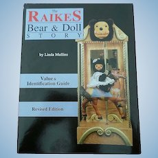 """""""The Raikes Bear & Doll Story"""" Collector's Price Guide"""