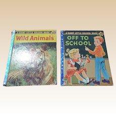 1958 Giant Little Golden Book First Edition Set