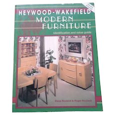 Heywood-Wakefield Modern Furniture Price Guide