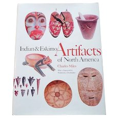 1986 Indian & Eskimo Artifacts Of North America