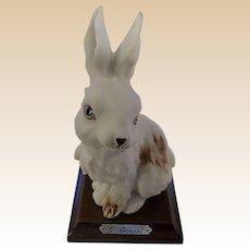 1984 Giuseppe Armani Rabbit Figurine