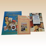 Collector Price Guides On Cookbooks Set Of Three