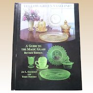 Hardcover Yellow Green Vaseline Glass Revised Edition Price and Reference Guide