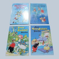 Rene Cloke Illustrated Children Book Set With Brer Rabbit
