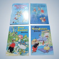 Rene Cloke Illustrated Children Book Set With Brer Rabbit