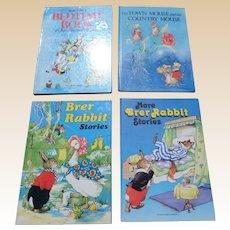 Rene Cloke Illustrated Children Book Set Of Four