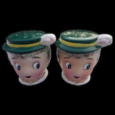 Rare PY Japan Gay Nineties Ladies Head Shakers