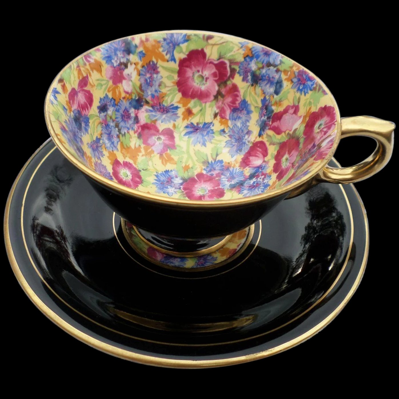 Royal winton grimwades royalty best gold chintz cup and saucer set click to expand reviewsmspy