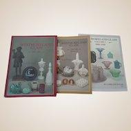 Westmoreland Glass Price Guides Three Volume Set