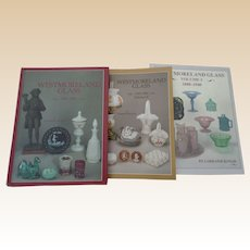 Westmoreland Glass Price Guides Three Volume Set