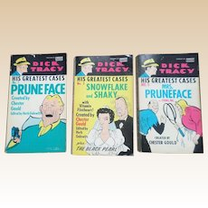 Fawcett Dick Tracy His Greatest Cases Paperback Set