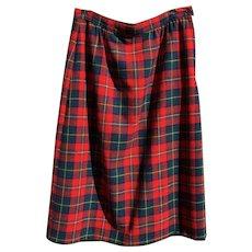 Pendleton Boyd Tartan Plaid Skirt - Red Tag Sale Item