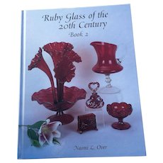Hardcover Ruby Glass Of The 20th Century Price Guide