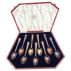 1937 Coronation Bravington's King's Cross Spoon Set