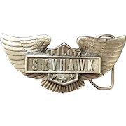 Pilot Sky Hawk Belt Buckle
