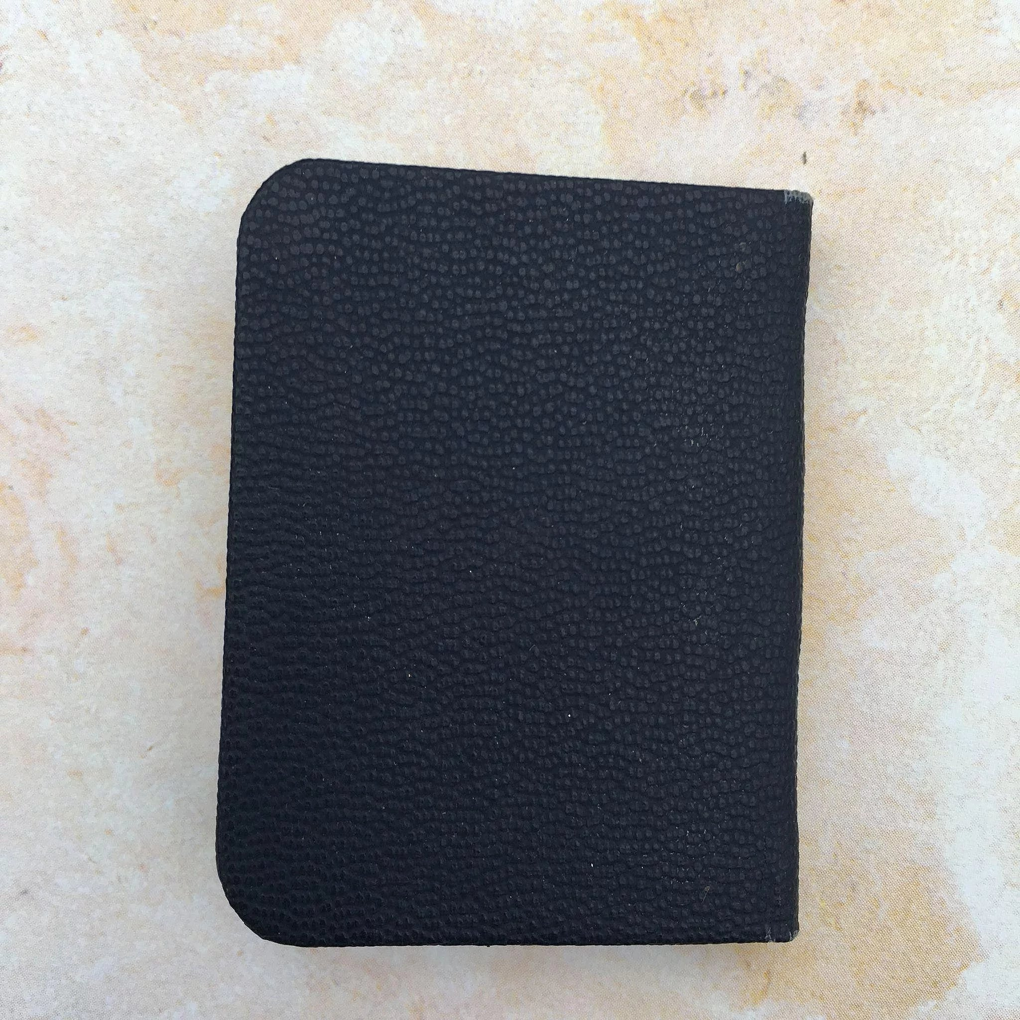 Vintage Leather Look Jeremiah Verse Bible Book Cover Large: Miniature The Little Bible : Cheries Collectible Treasures