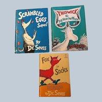 Dr. Seuss Vintage Book Collection