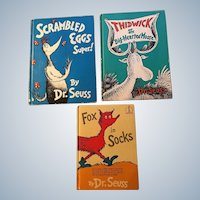 Dr. Seuss Vintage Book Collection