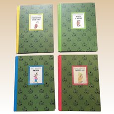1965 Golden Press Walt Disney Book Set