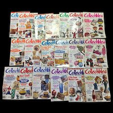 Country Accents Collectibles Flea Market Finds Magazine Set