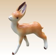 California Pottery Robert Simmons Deer Figurine