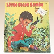 1959 Whitman Little Black Sambo Tell A Tale Children Book