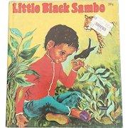 1959 Whitman Little Black Sambo Tell A Tale Children Book