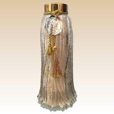 1930's Wrisley Gold Tassel Bath Crystals