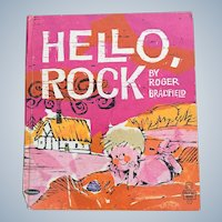 First Edition 1965 Hello Rock Whitman Tell A Tale Children Book