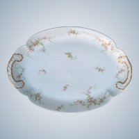 "Theodore Haviland Limoges France Porcelain 14"" Platter"