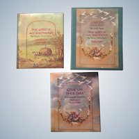 1989 Tasha Tubor Christian Miniature Book Set