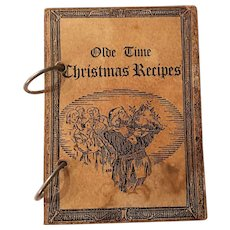 1980 Sandra Jantz Olde Time Christmas Recipes