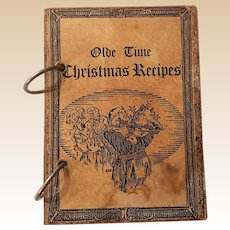 1980 Sandra Jantz Olde Time Christmas Recipes