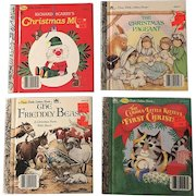 A First Little Golden Books Christmas Collection First Edition Book Set
