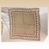 Tammis Keefe Designer Handkerchief With KimBall Label