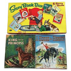 Rare Whitman Story Book Box Set